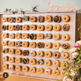 Food & Wine: Donut Walls Are Now a Thing at Weddings