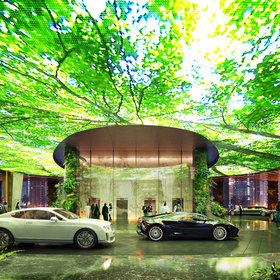 Food & Wine: Dubai's Next Hotel Will Build a Rainforest in the Desert