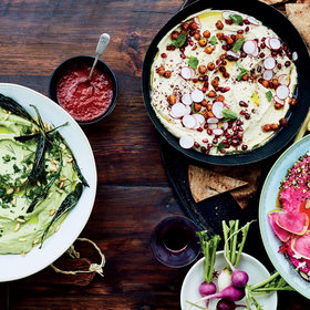 Food & Wine: 3 Festive Ways to Spice up Your Hummus