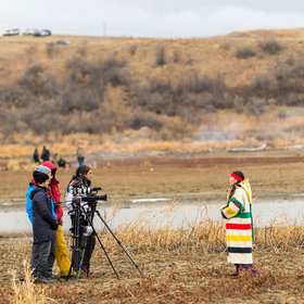 Food & Wine: Scenes from Standing Rock on Thanksgiving