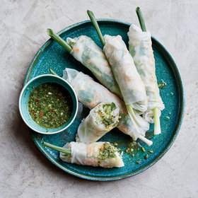 Food & Wine: Crab Summer Rolls 