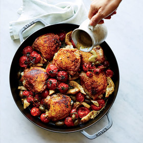 Food & Wine: Chicken with Charred-Rosemary Vinaigrette