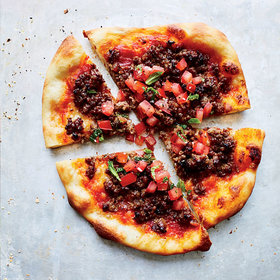 mkgalleryamp; Wine: Spiced-Lamb Pizzas