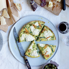 Food & Wine: Asparagus-and-Zucchini Frittata