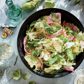 Food & Wine: Shaved Artichoke Salad