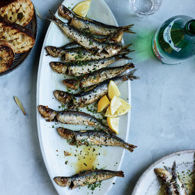 Food & Wine: Whole Sardines with Parsley