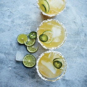 Food & Wine: Spicy Margarita Punch