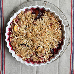 Food & Wine: Stone Fruit Crisp