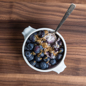 Food & Wine: Blueberry Coconut Morning Porridge