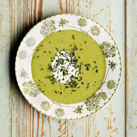 Food & Wine: Mint and Pea Soup