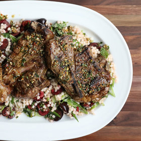 Food & Wine: Lamb Blade Chops 