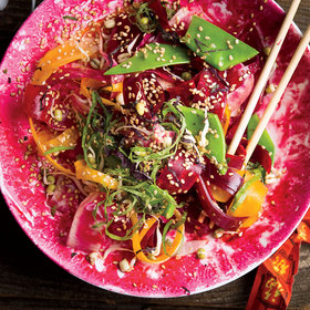 Food & Wine: Beet Salad with Shiso