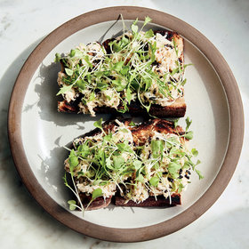 Food & Wine: Crab Tartines