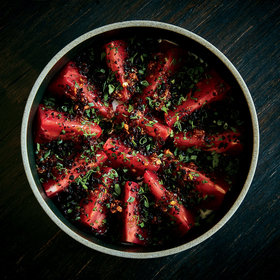 Food & Wine: Tomatoes with Bagna Cauda and 