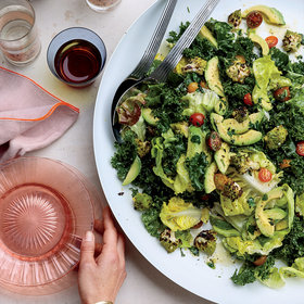 Food & Wine: Grilled Romanesco Salad with Charred-Herb Dressing