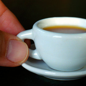 Food & Wine: This Tiny Cup of Coffee Is Made From Just One Bean