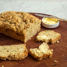 Food & Wine: Beer Bread with Jalapeño, Cilantro and Queso Fresco