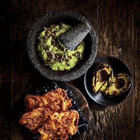 Food & Wine: Grilled Rockamole