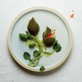 Food & Wine: Pickled Onions with Trout Roe and Verbena