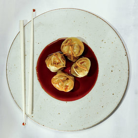 mkgalleryamp; Wine: Pork-and-Chive Dumplings