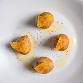 Food & Wine: Tofu Doughnuts with Mezcal Condensed Milk