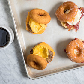 mkgalleryamp; Wine: Cake Doughnut Breakfast Sandwich