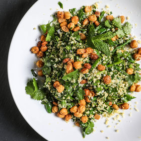 Food & Wine: Spring Vegetable and Herb Tabbouleh Salad