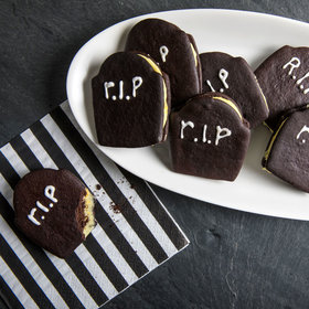 Food & Wine: Tombstone Sugar Cookie Sandwiches