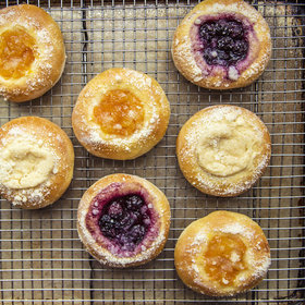 Food & Wine: Kolache with Blueberry Filling