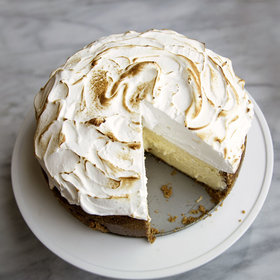 Food & Wine: Lemon Meringue Cheesecake