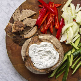 Food & Wine: Rye Bread Dip