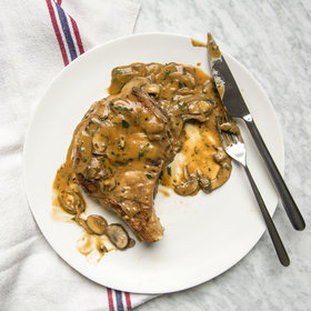 Food & Wine: Smothered Pork Chops