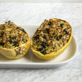 Food & Wine: Spaghetti Squash Boats