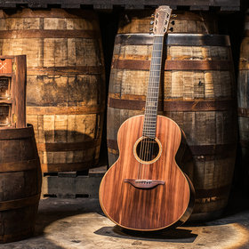 Food & Wine: This Guitar Was Built with Wood from Bushmills Irish Whiskey Barrels