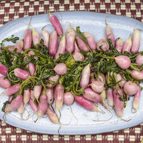 Food & Wine: Maple-Roasted Radishes
