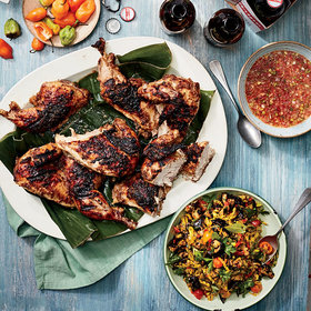 Food & Wine: Jerk Chicken with 