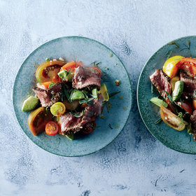 Food & Wine: Juicy Steak-and-Tomato Salad