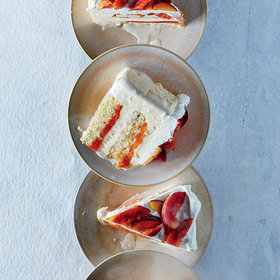 Food & Wine: Peaches and Cream 