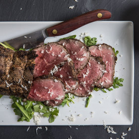 Food & Wine: Grilled and Chilled Beef with Buttermilk-Horseradish Sauce