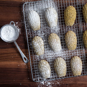 Food & Wine: Sweet Tea Madeleines