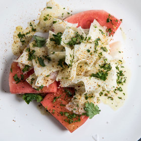 Food & Wine: Watermelon Slabs with Jicama