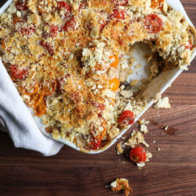Food & Wine: Barley Gratin with Roasted Cherry Tomatoes