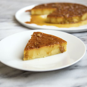 Food & Wine: Toasted Coconut Flan