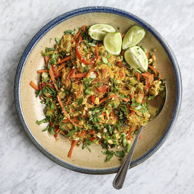 Food & Wine: Spaghetti Squash Pad Thai