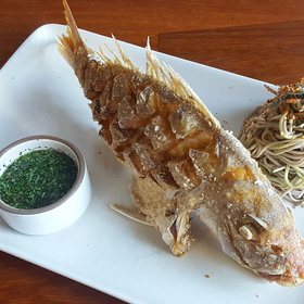 Food & Wine: Andrew Kirschner's Showstopping Whole Snapper Makes Its Triumphant Return