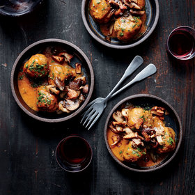 mkgalleryamp; Wine: Albóndigas with Mushrooms