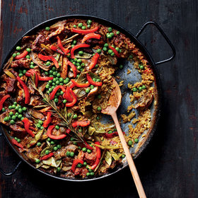 Food & Wine: Chicken and Pork Paella