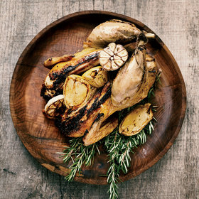 Food & Wine: Garlic Grilled Chicken