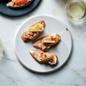 Food & Wine: Potato, Tuna and Pepper 