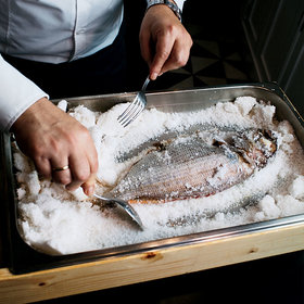 Food & Wine: Salt-Baked Fish